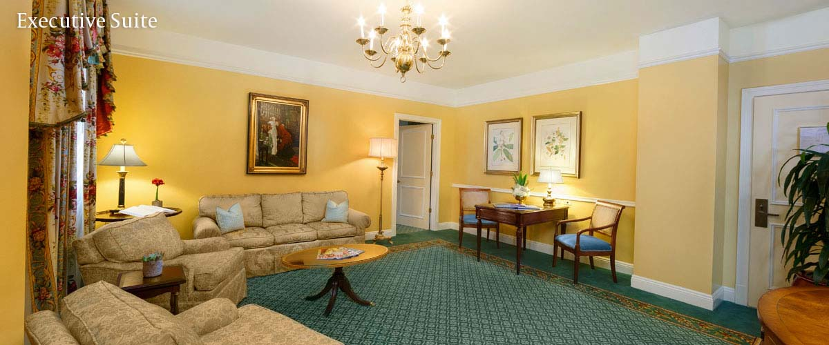 Executive Hotel Suite Parlor